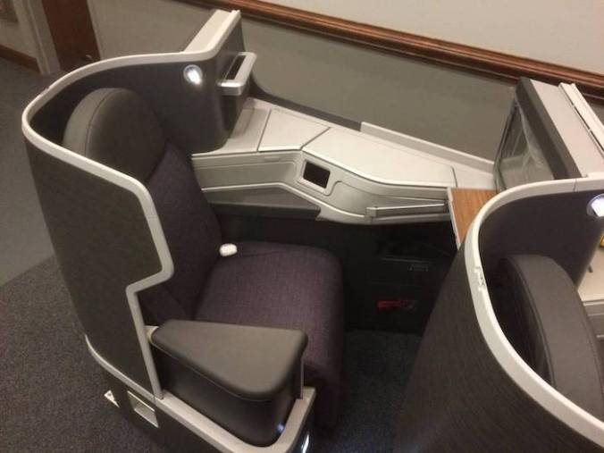 American Airlines B/E Diamond Seat