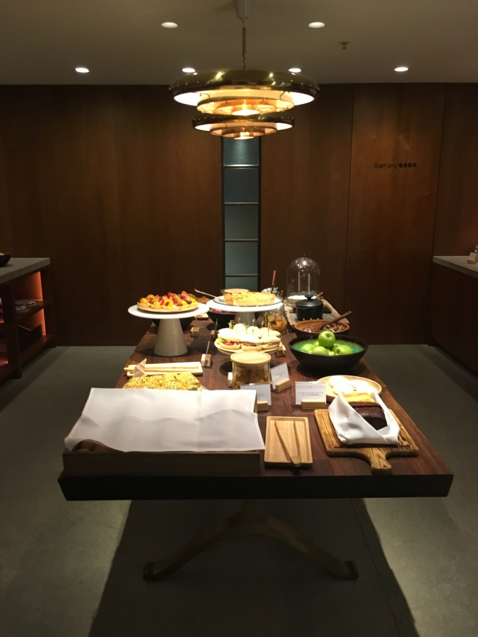 The Pantry - The Pier Cathay Pacific First Class Lounge
