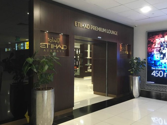 Etihad Premium Lounge Entry