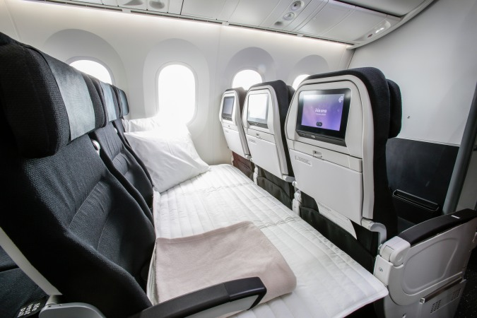 Air New Zealand 'Skycouch' (Image - Snowsbest.com)