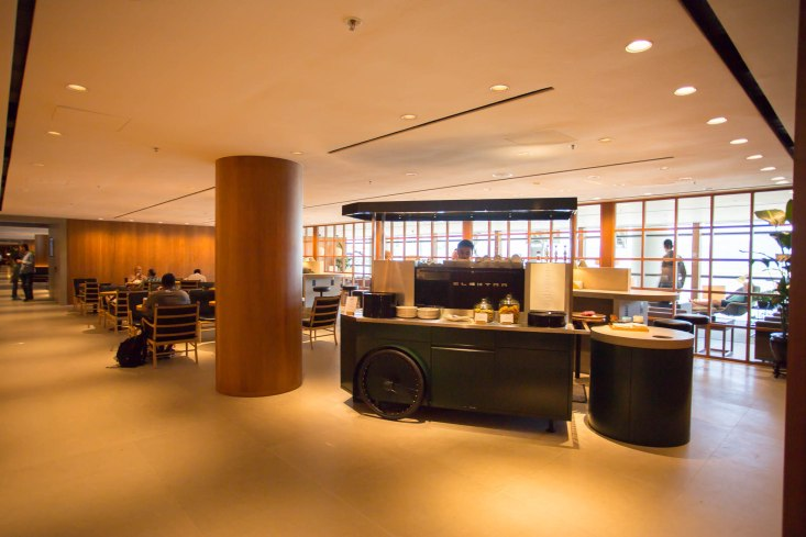 Cathay Pacific Pier Business Lounge Food Hall