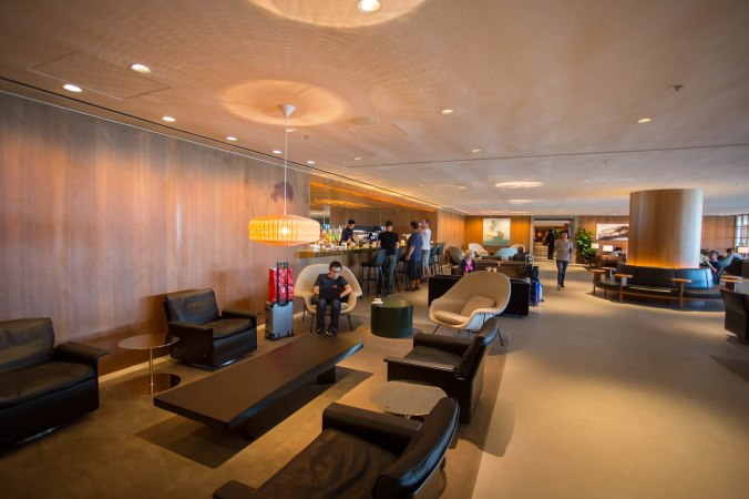 Cathay Pacific Pier Business Lounge Bar