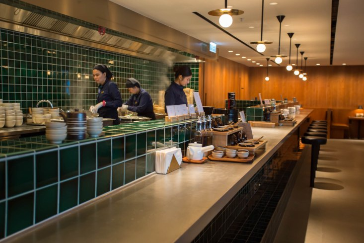 Cathay Pacific Pier Business Lounge Noodle Bar