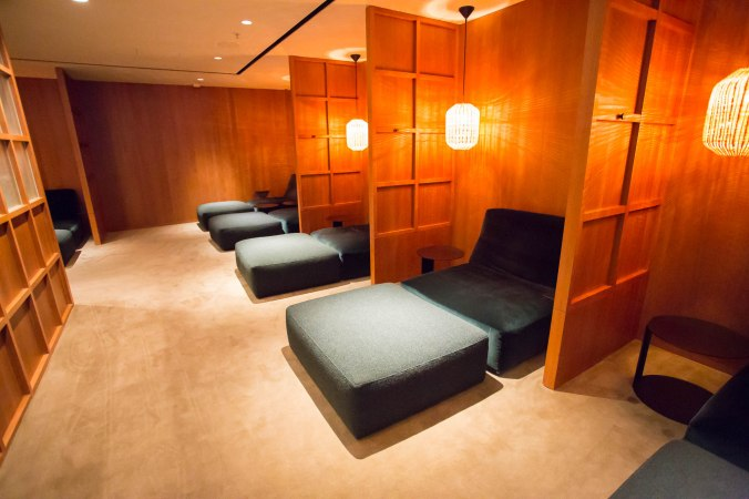 Cathay Pacific Pier Business Lounge Relaxation Room