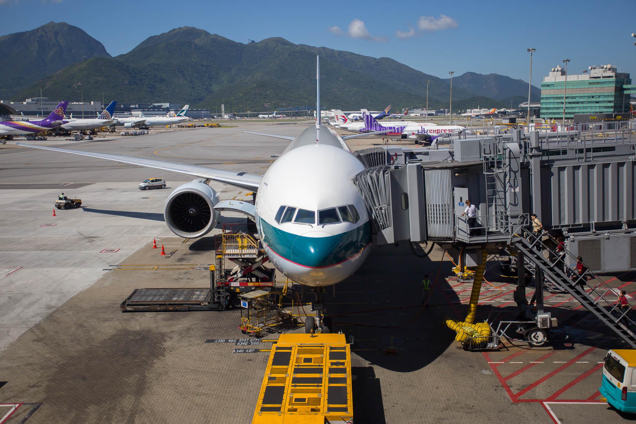 Boeing 77W B-KPA