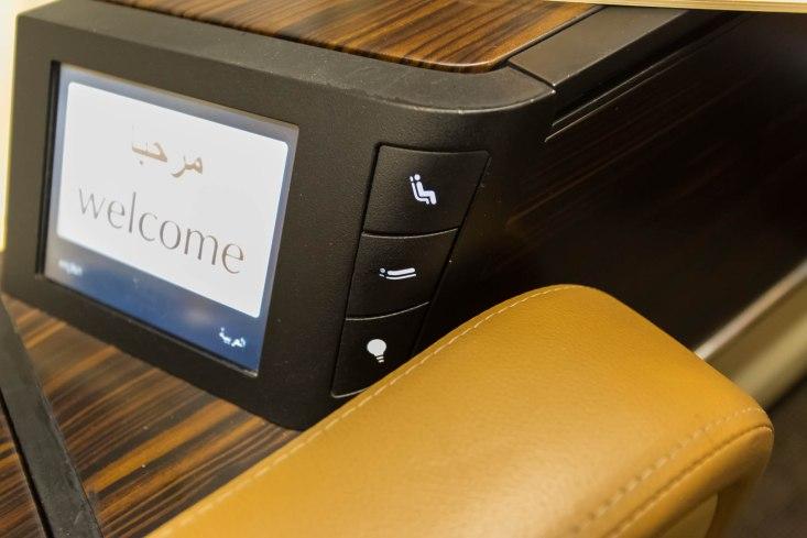 Seat Controls Panel