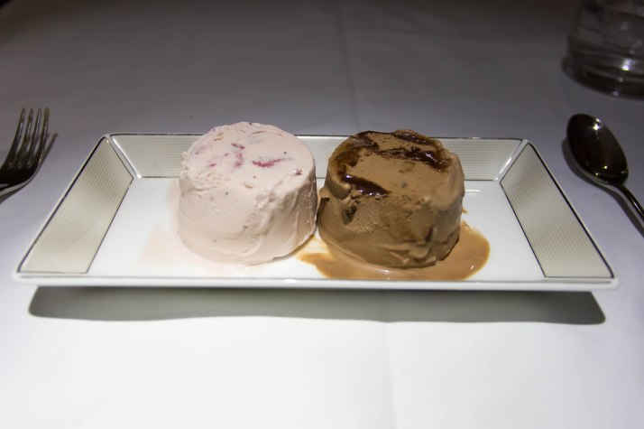 Strawberry And Chocolate Ice-cream