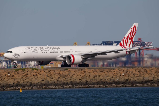 Virgin Australia 777 image - Zac George