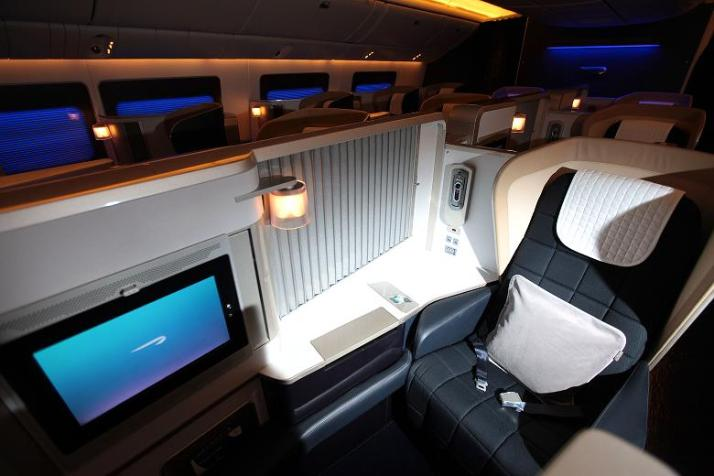 British Airways 777 First Class (image: theme.co.uk)
