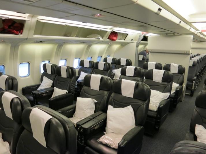 Air New Zealand 767 Business Class (image: www.sqtalk.com)