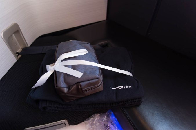 Pyjamas and Amenity Kit