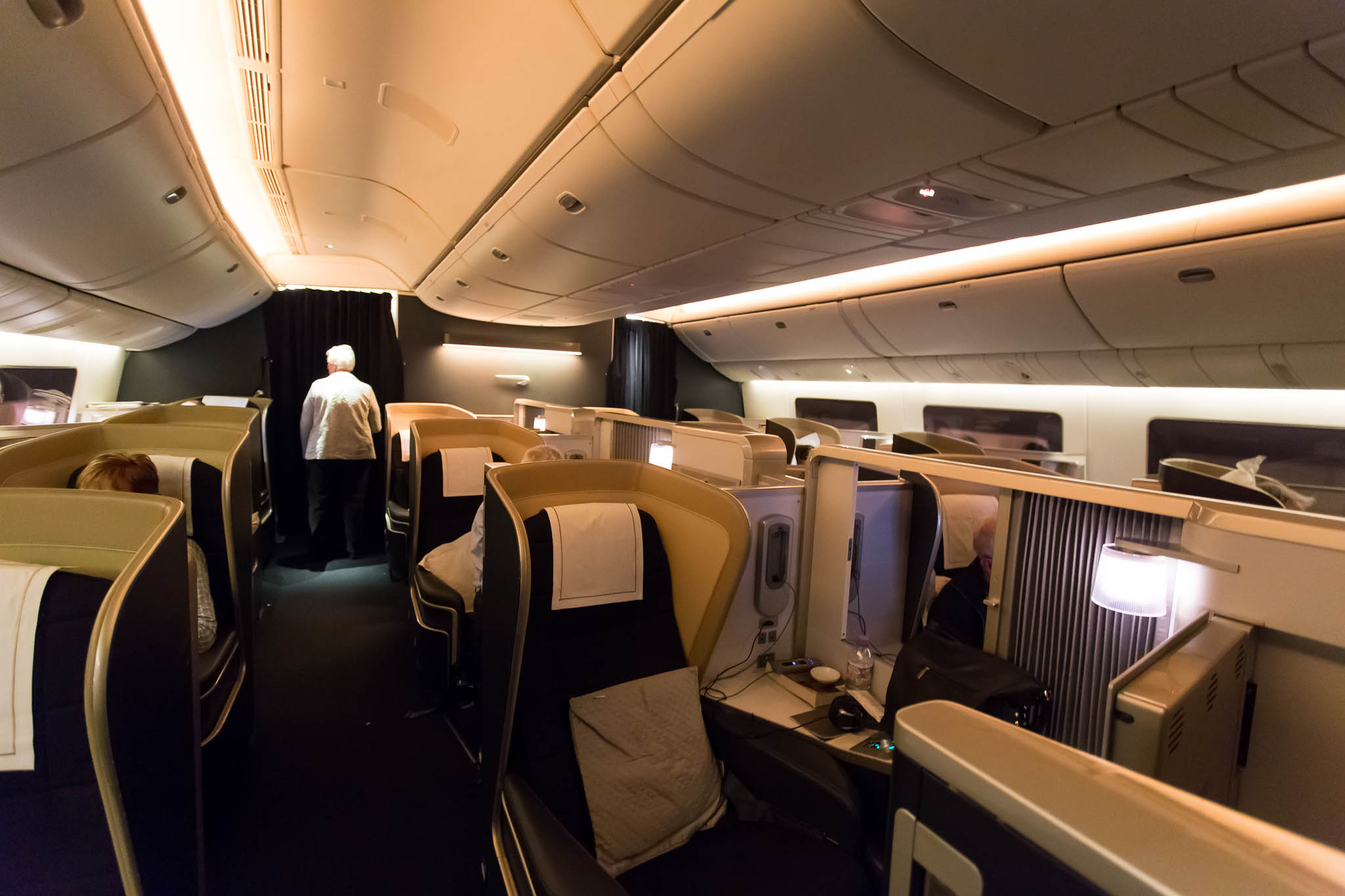 British Airways First Class Cabin
