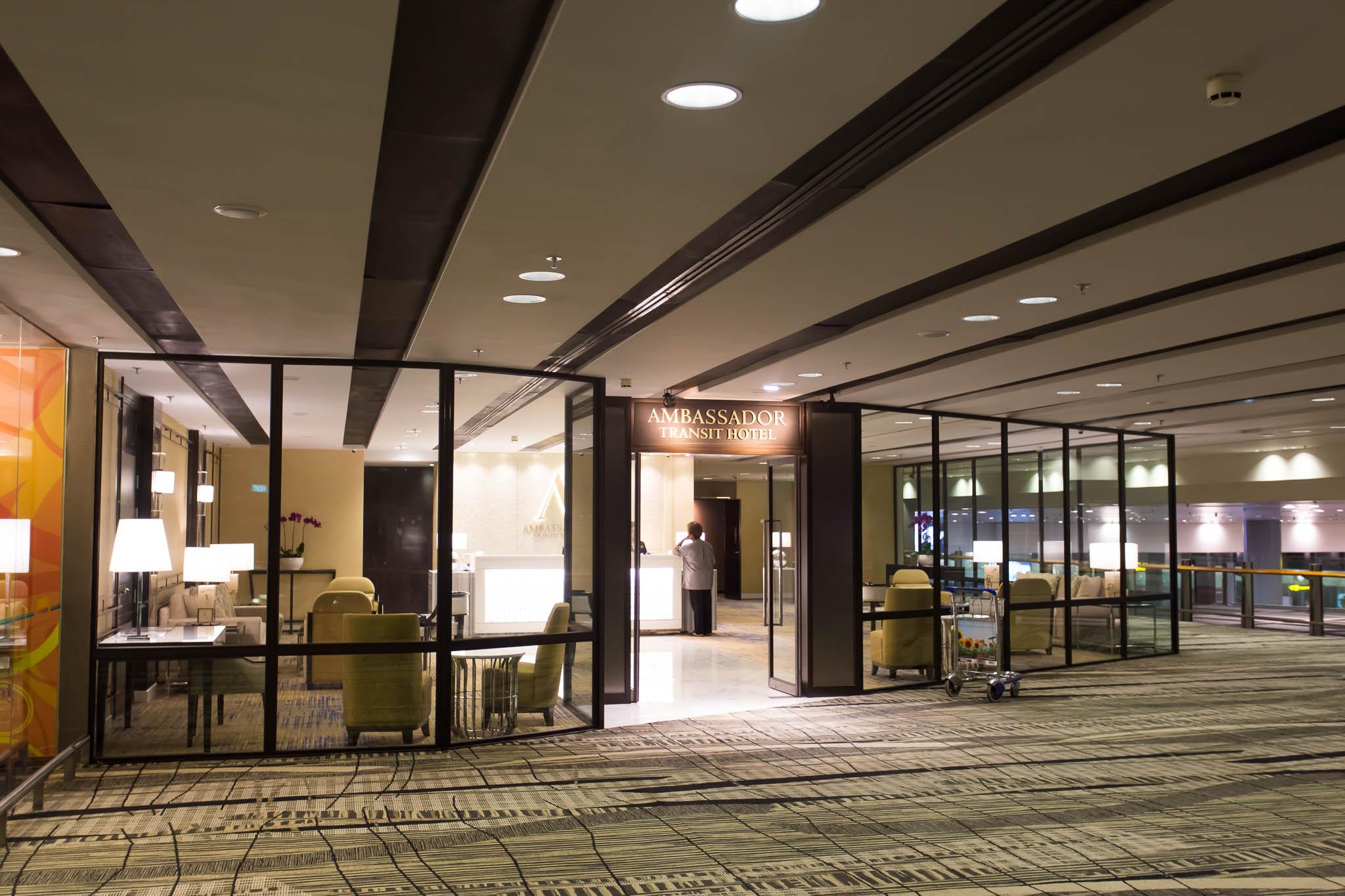 Ambassador Hotel Entry