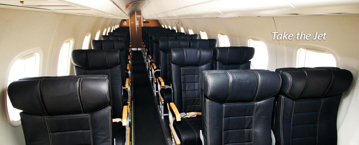 Jetgo ERJ-135 Interior