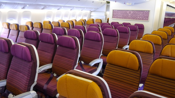 Thai Airways A350 Economy Seat (image: thedesignair.com)