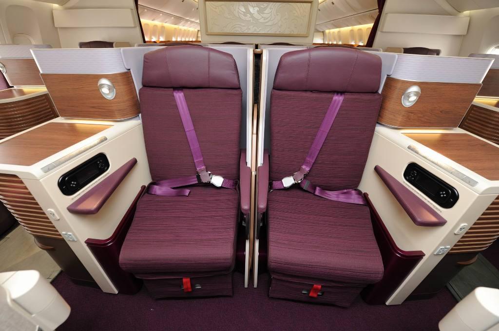 Thai Airways Newer Business Class (image: flight-report.com)