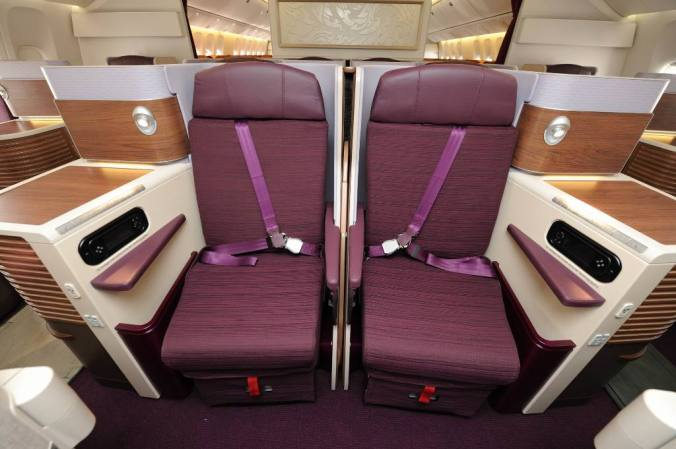 Thai Airways Newer Business Class (image: flight-report.com)