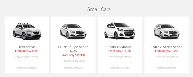 Small Car Category
