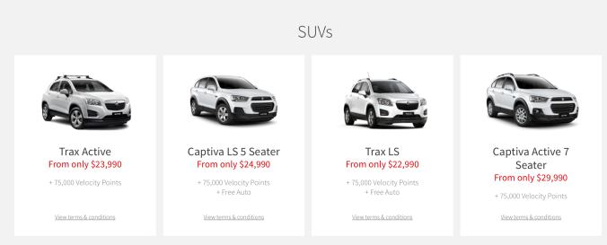 SUV Car Category