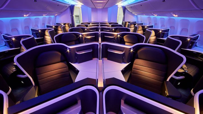 Virgin Australia New Business Class