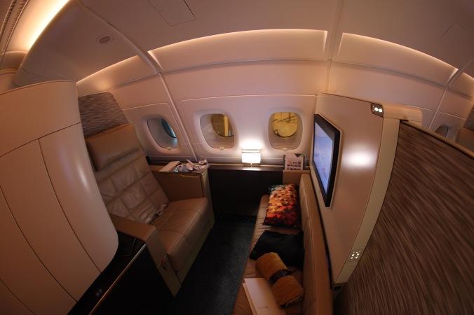 Etihad A380 Apartment