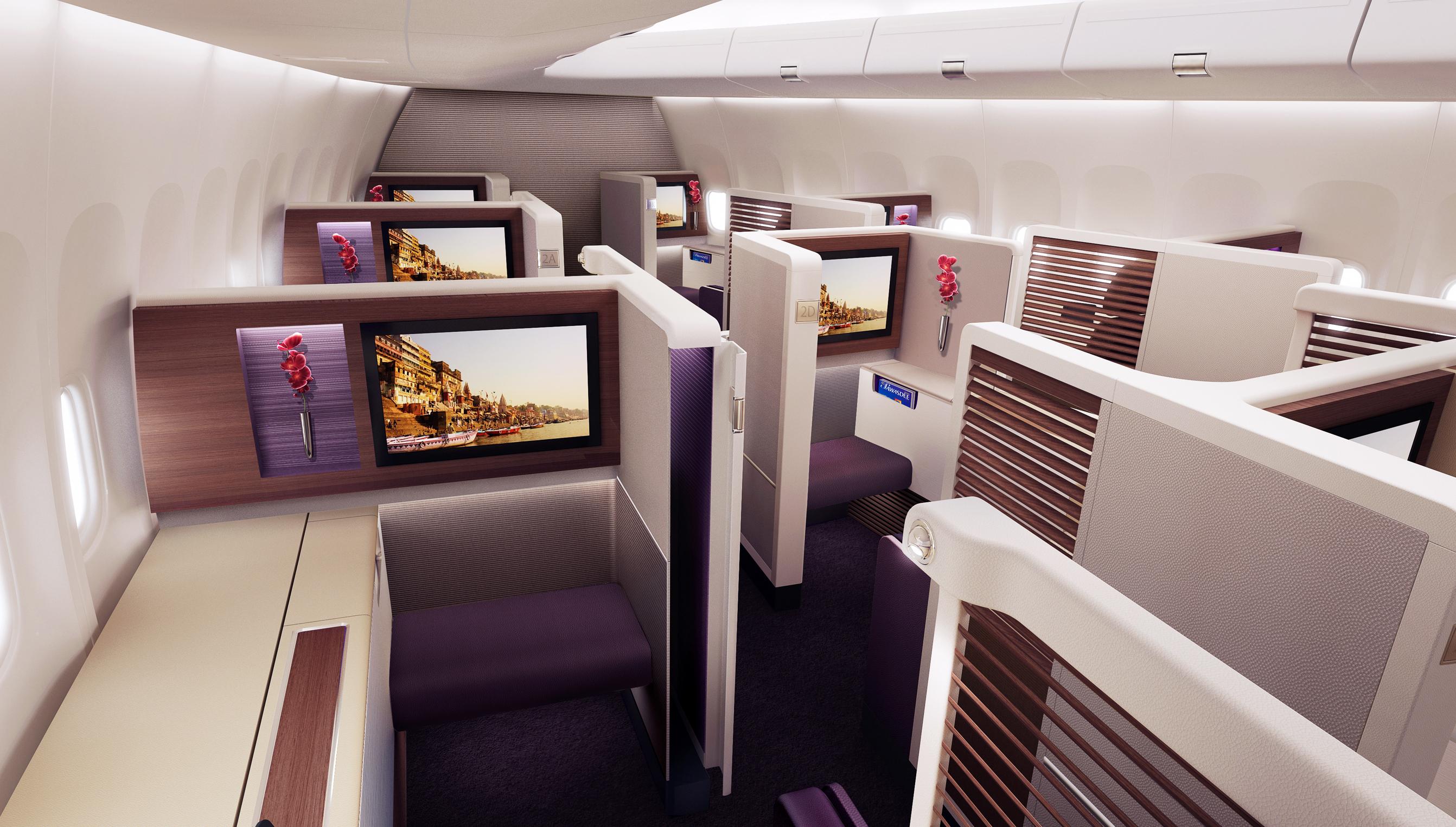 Thai 747 First Class