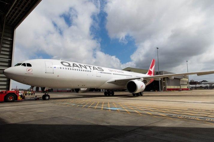 Qantas New Livery © Zac George
