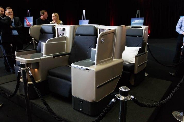 Qantas 787-9 Business Class © Zac George