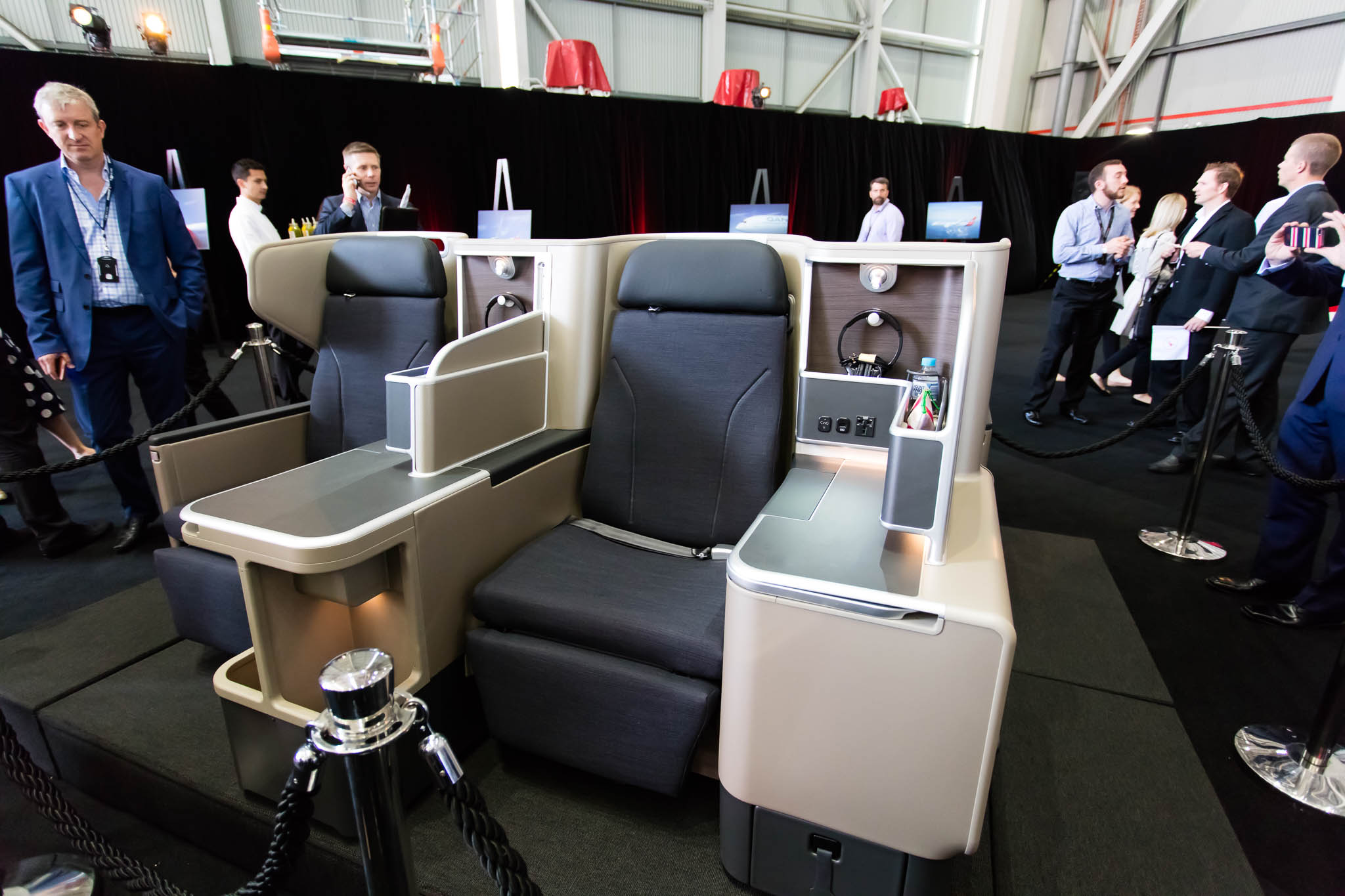 Qantas 787-9 Business Class © Zac George