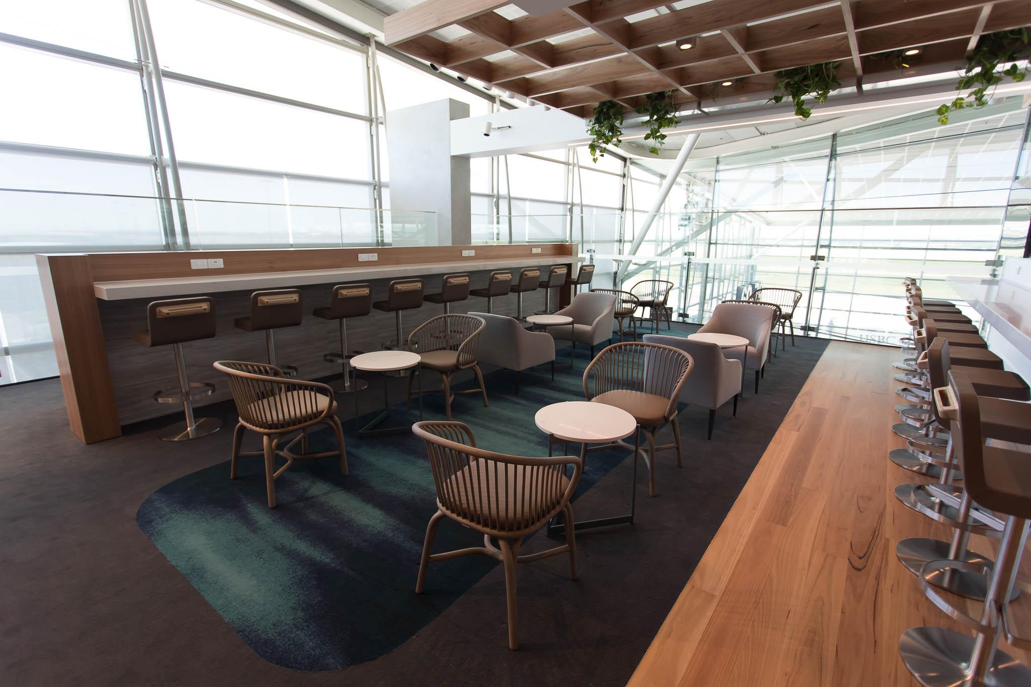 Qantas Brisbane International Lounge Level 2