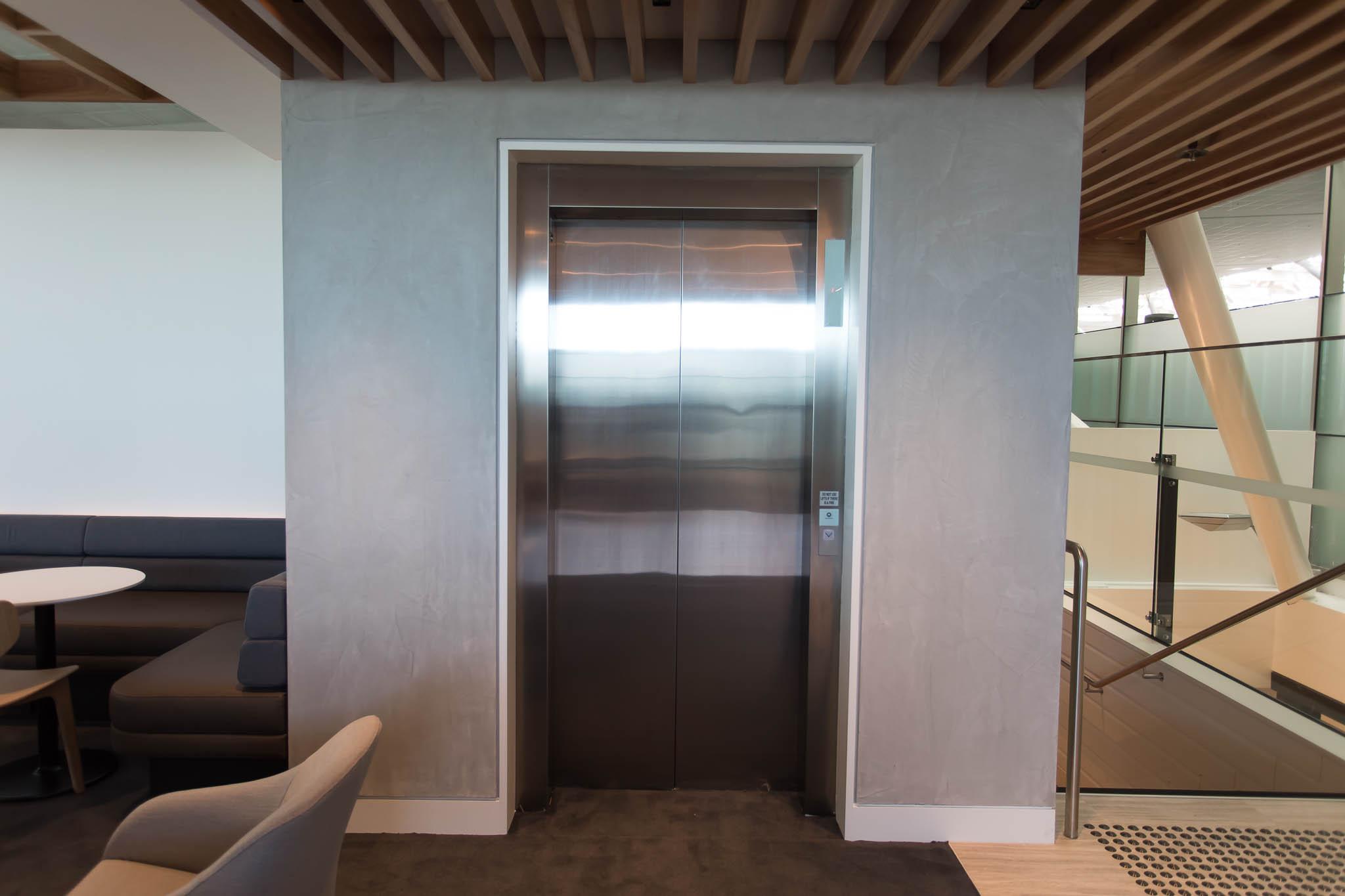 Qantas Brisbane International Lounge Elevator