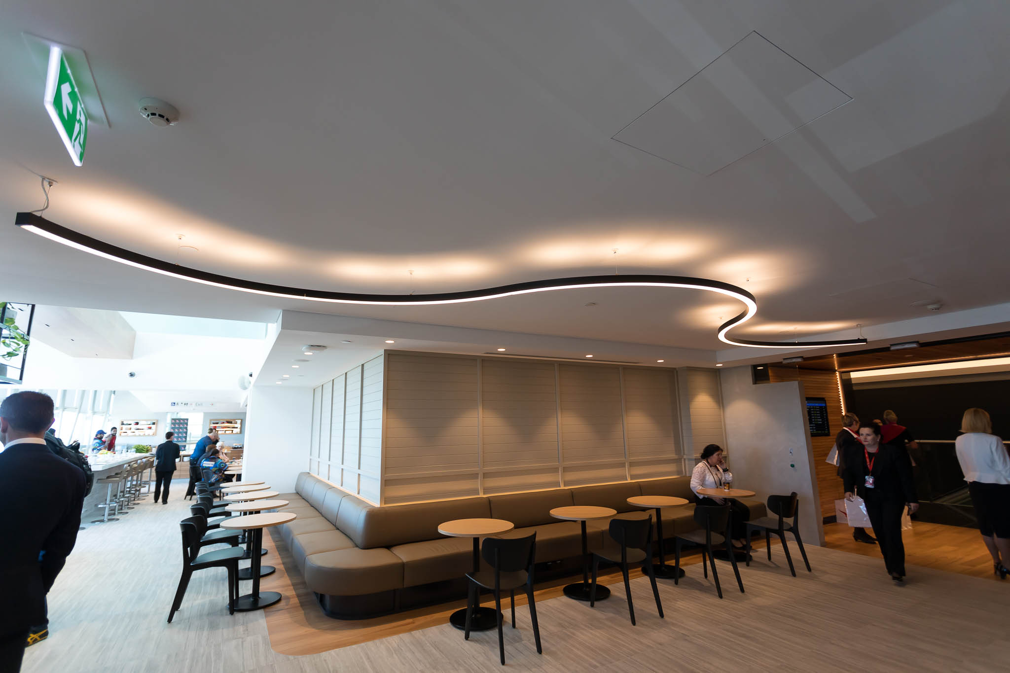 Qantas Brisbane International Lounge Entrance
