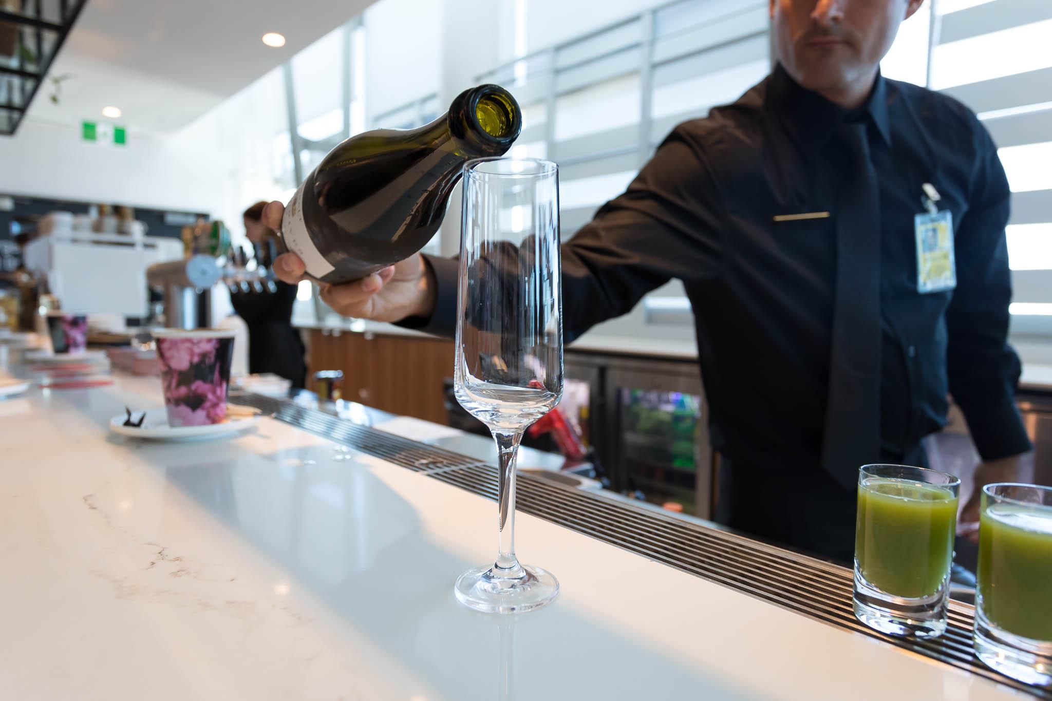 Qantas Brisbane International Lounge Bar