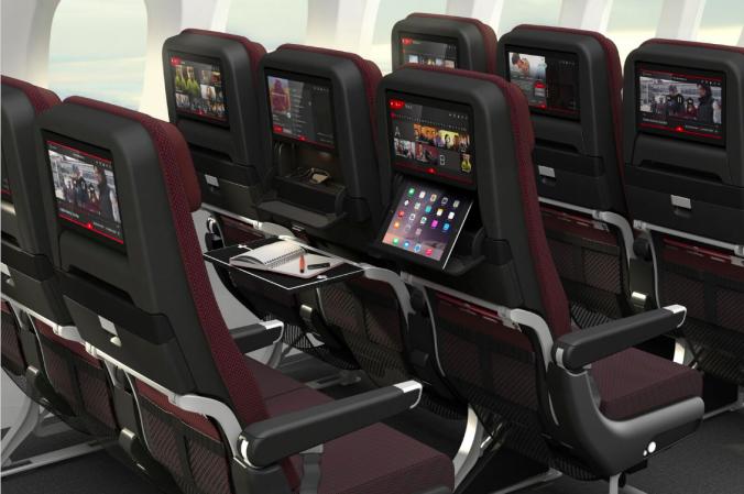 Qantas 787-9 Business Class © Qantas