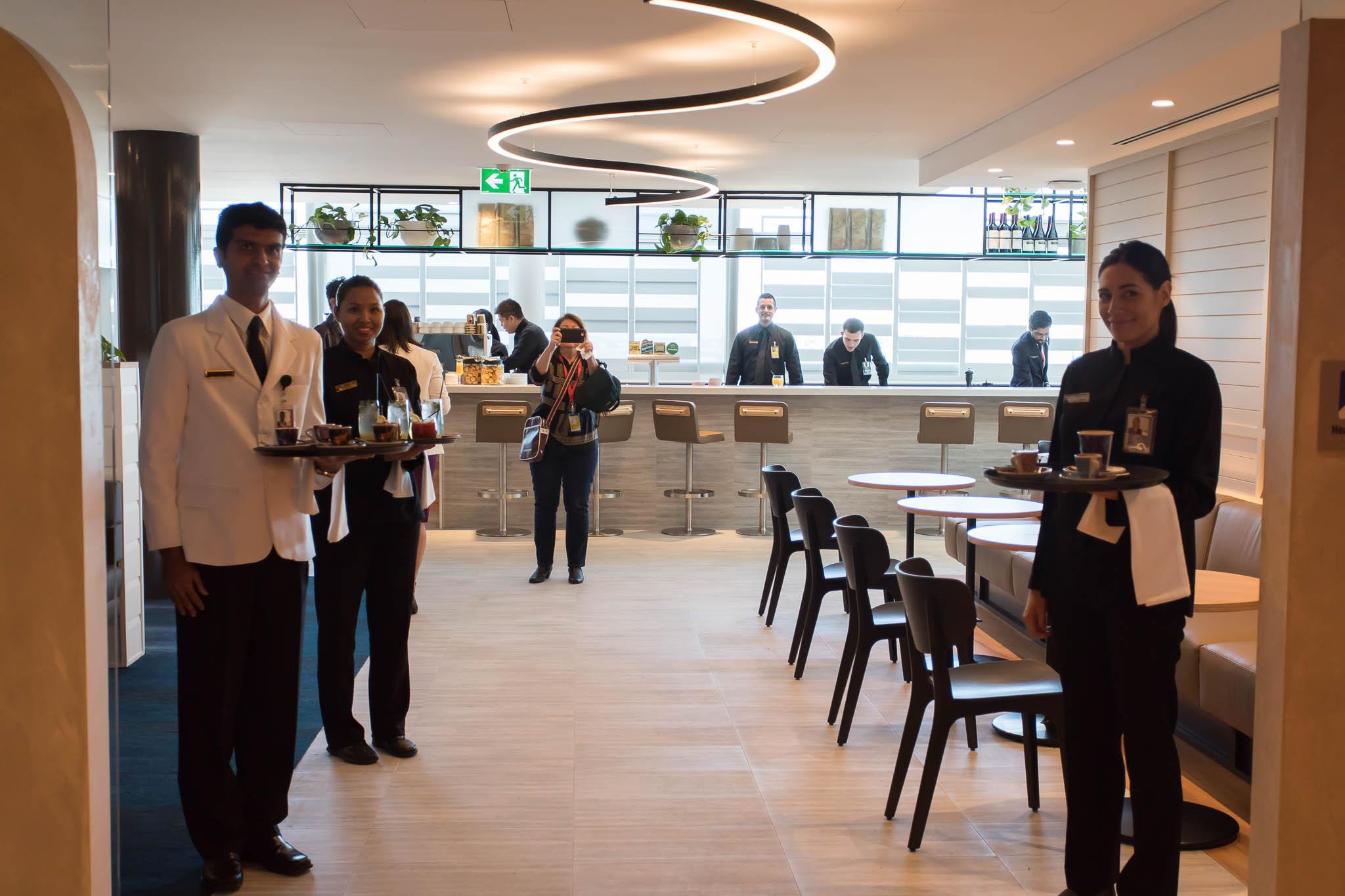 Qantas Brisbane International Lounge Entry