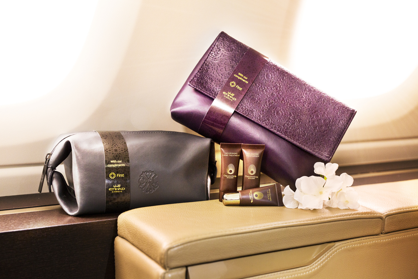 Etihad First Class Amenity Kits