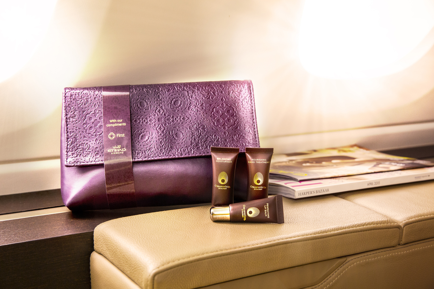 Etihad New First Class Women's Amenity Kit