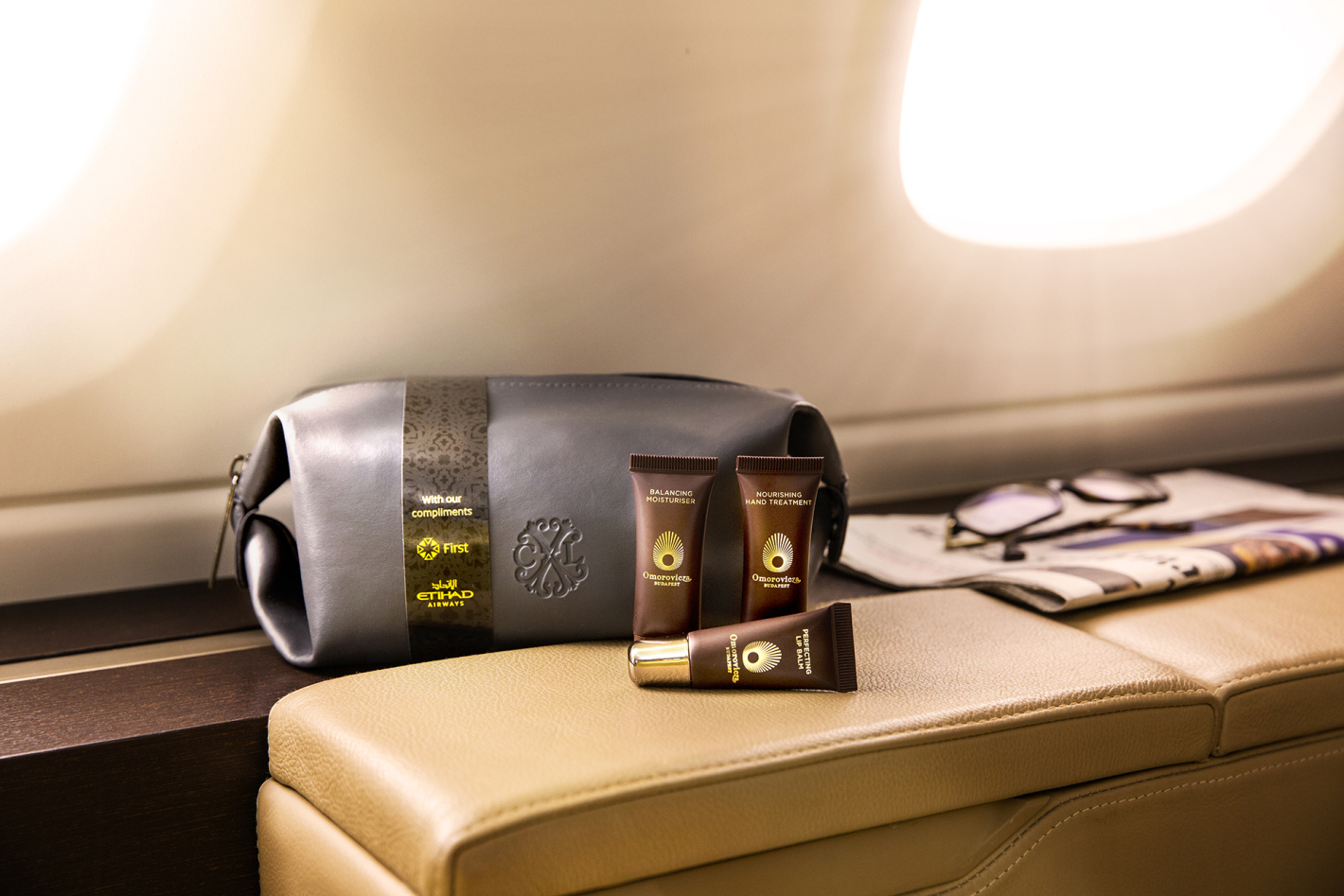 Etihad New First Class Men's Amenity Kit
