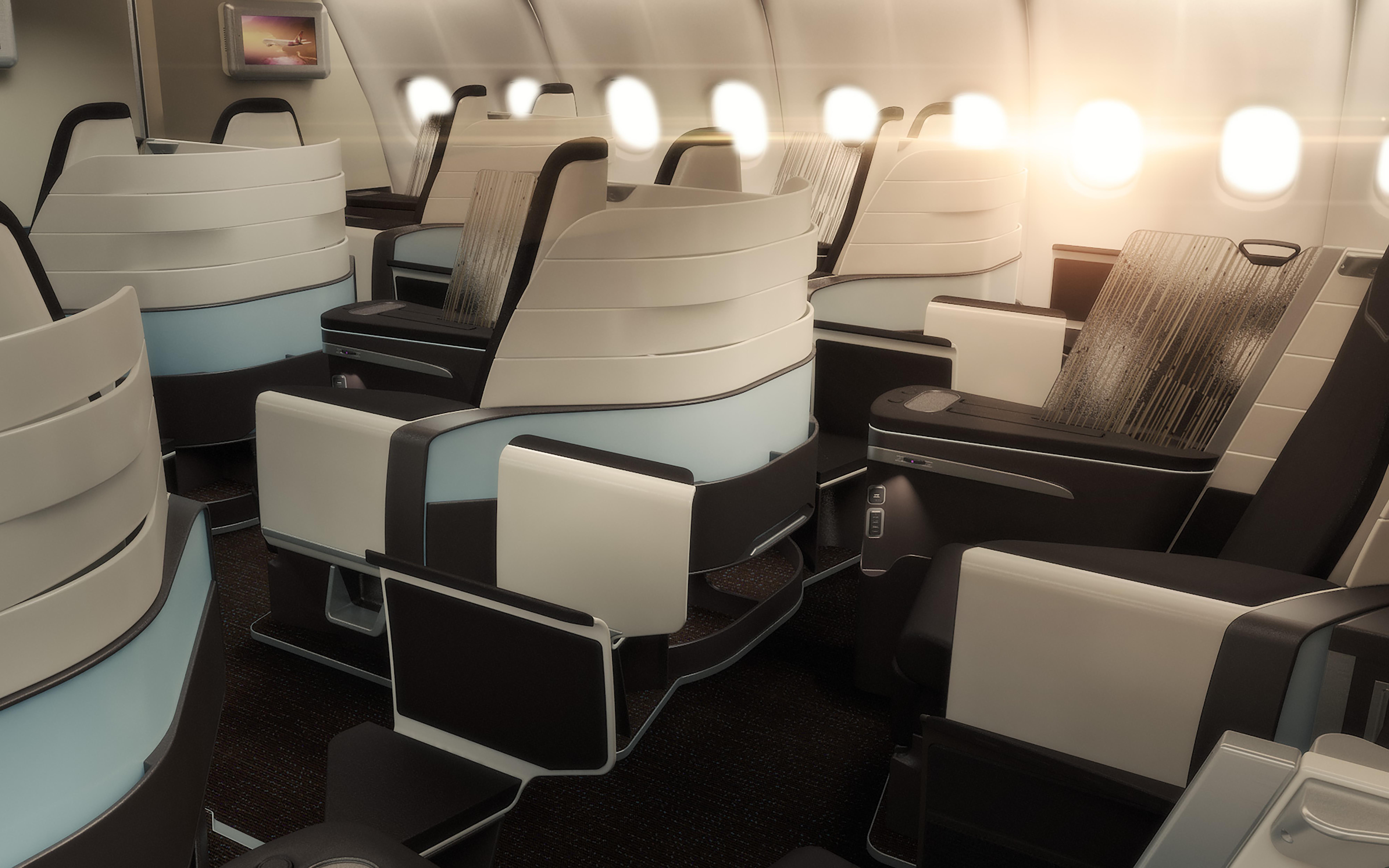 Hawaiian Airlines New Business Class © Hawaiian Airlines