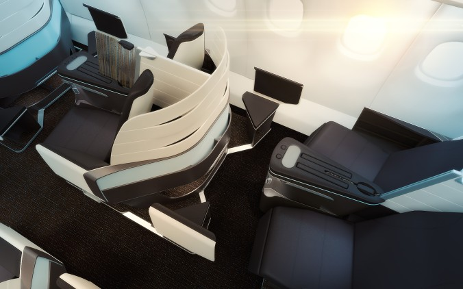 Hawaiian Airlines New Business Class © Hawaiian Airlines