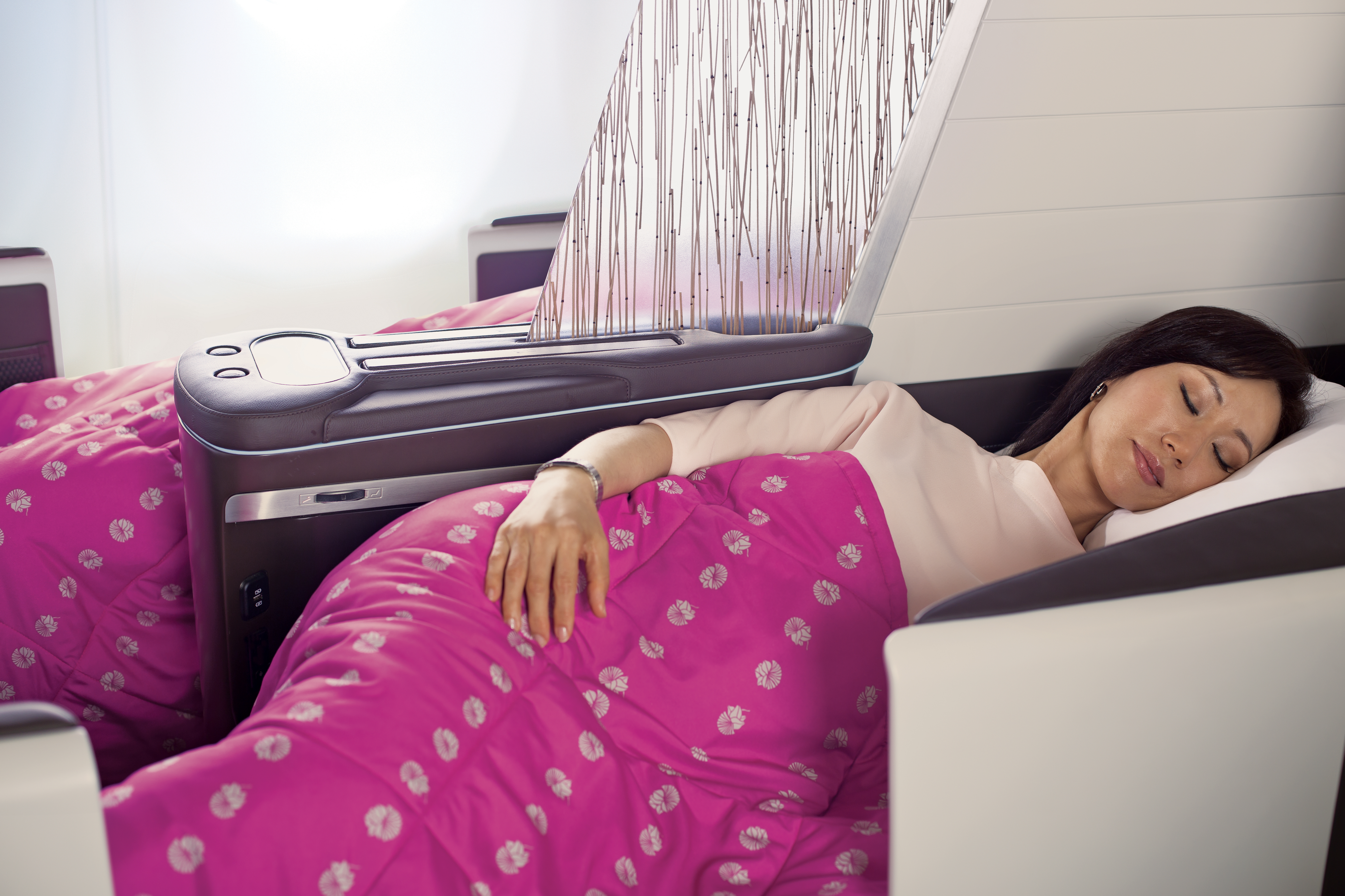 Hawaiian Airlines New Business Class Seat © Hawaiian Airlines