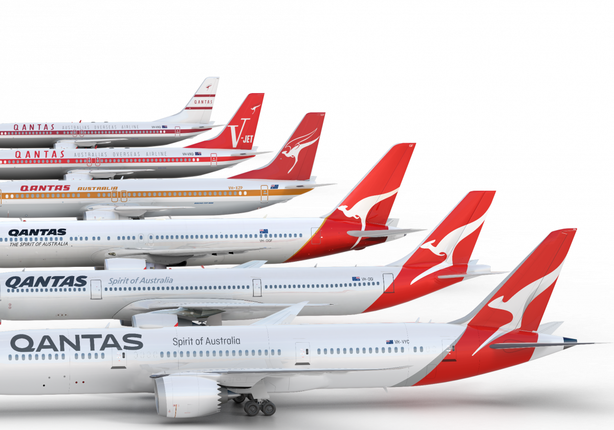 Qantas Liveries © Qantas