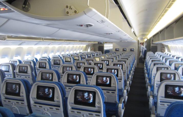 Cathay 777 Economy (image: Travelskills.com)