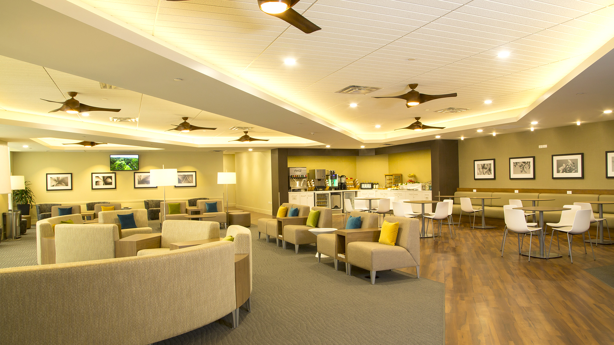 Hawaiian Airlines New Plumeria Lounge © Hawaiian Airlines
