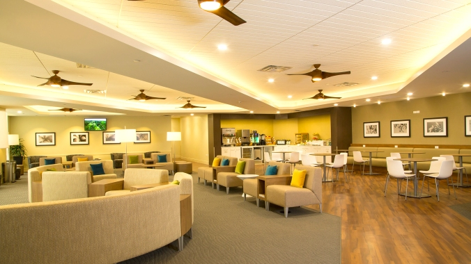 Hawaiian Airlines New Plumeria Lounge © Hawaiian Airlines