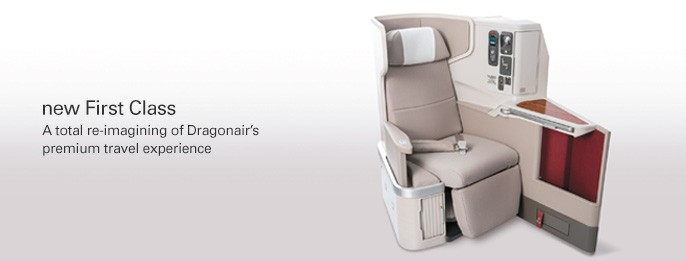 Cathay Dragon first class (image - Cathay Dragon)