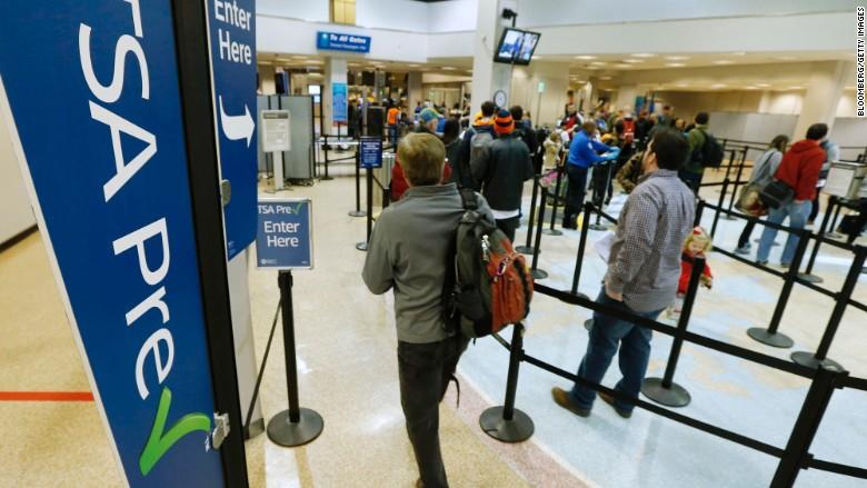 TSA Pre-Check (image: CNN Money)
