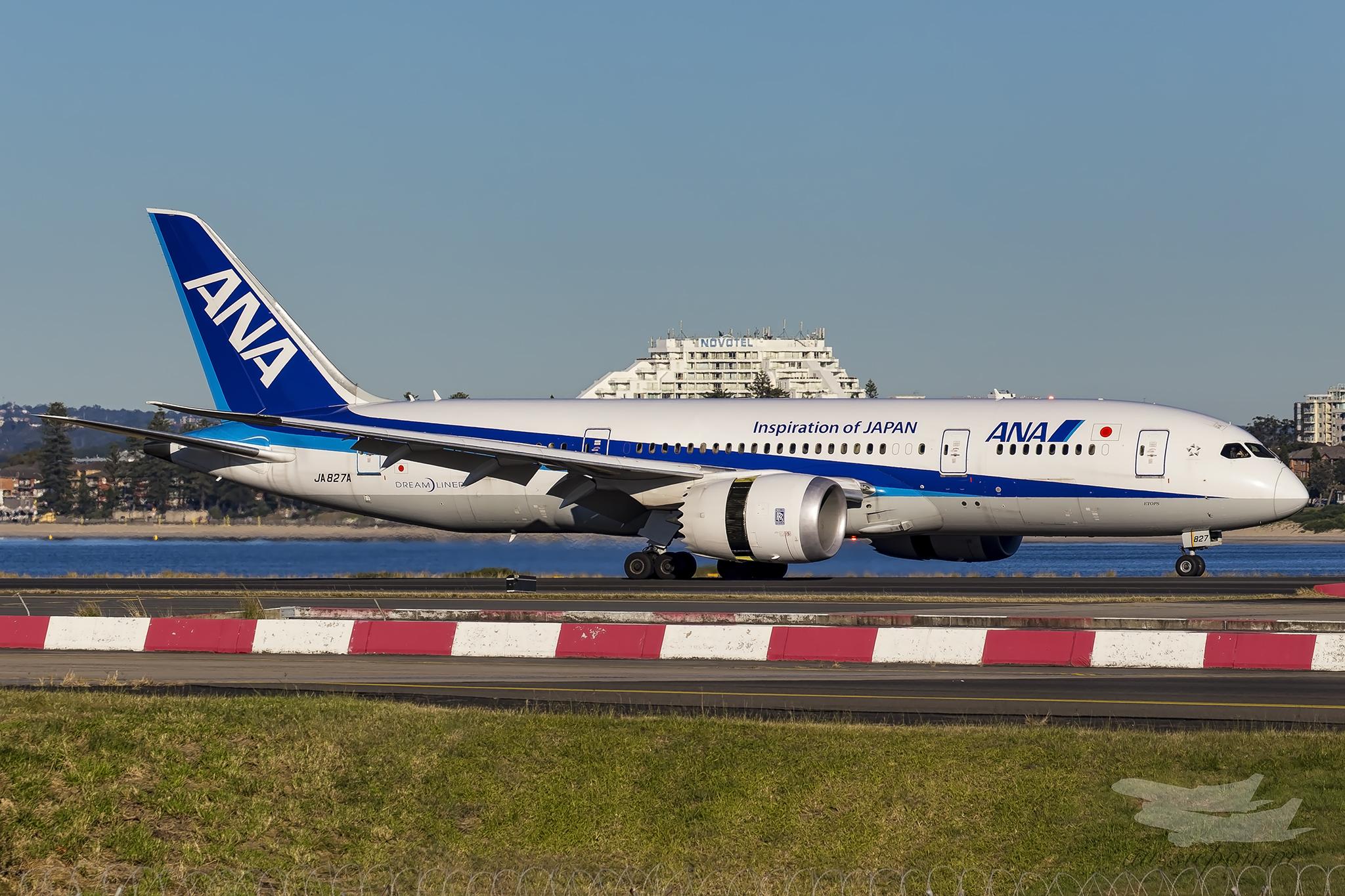 ANA 787-9 (Image: Bernard Proctor)