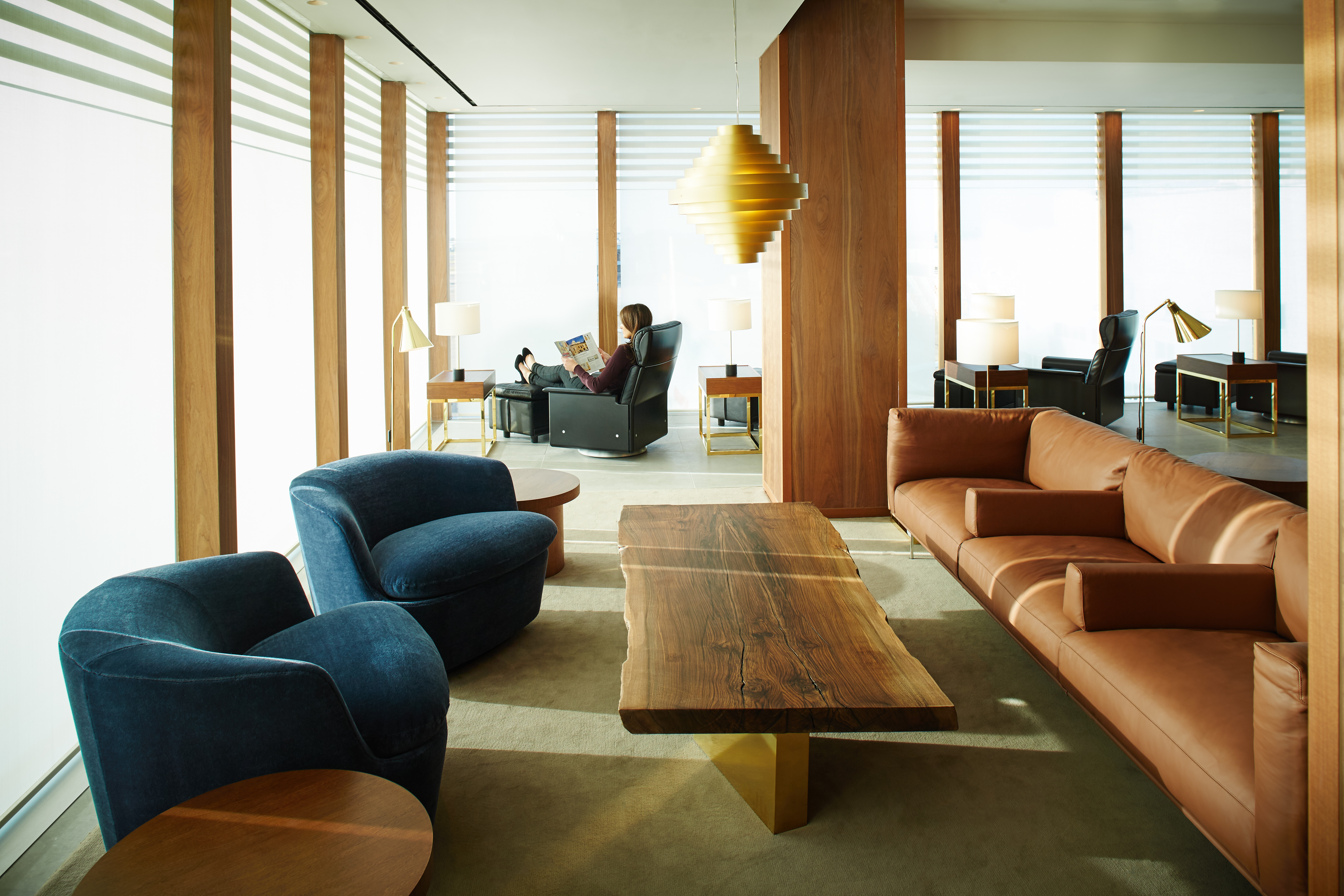 Cathay Pacific London Lounge
