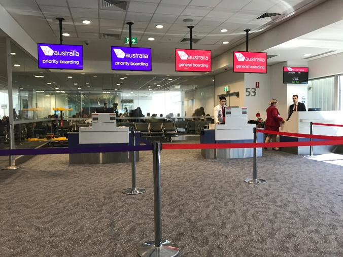 Virgin Australia Boarding Gate 53